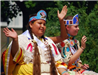 Girls Dressed in Native American Outfits