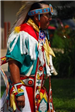 Man in Native American Outfit