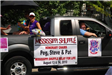 Mississippi Shuffle Truck at the River City Days Parade