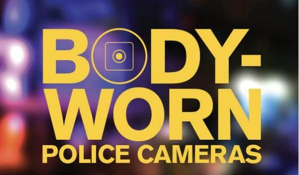 "Computer generated image of the words ""Body Worn Cameras."""
