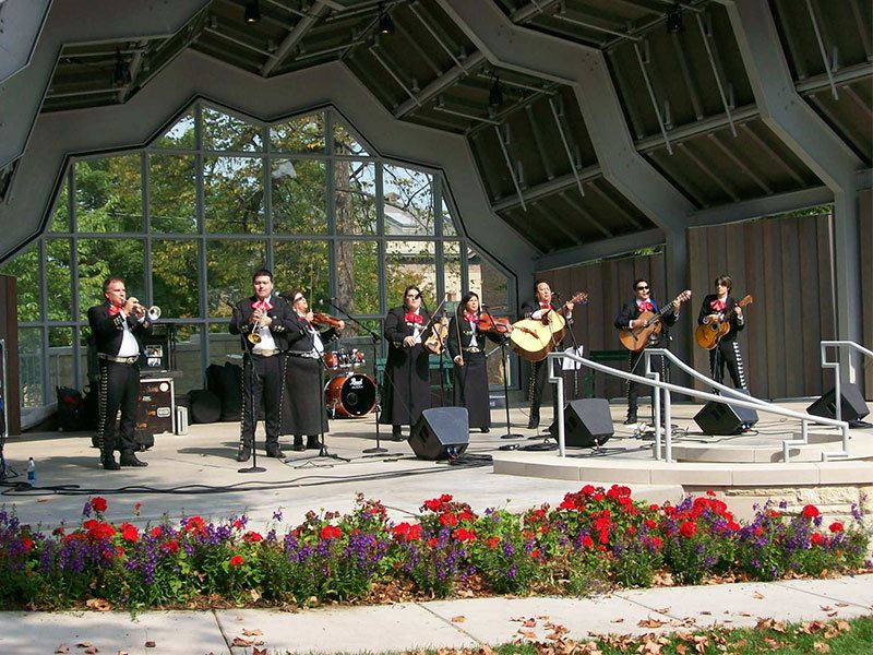 Band at Central Park