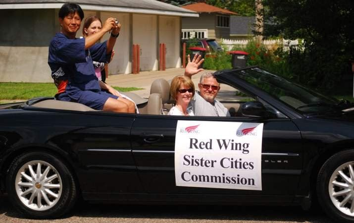 Red Wing Sister Cities Commission Car