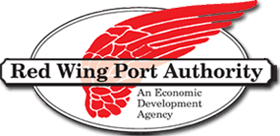 Logo for the Red Wing Port Authority.