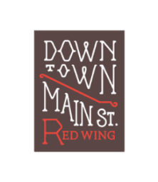 Red Wing Downtown Main Street Logo