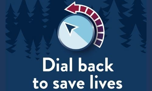 &#34Dial Back&#34 logo from the MN governor&#39s office on COVID-19 safety.