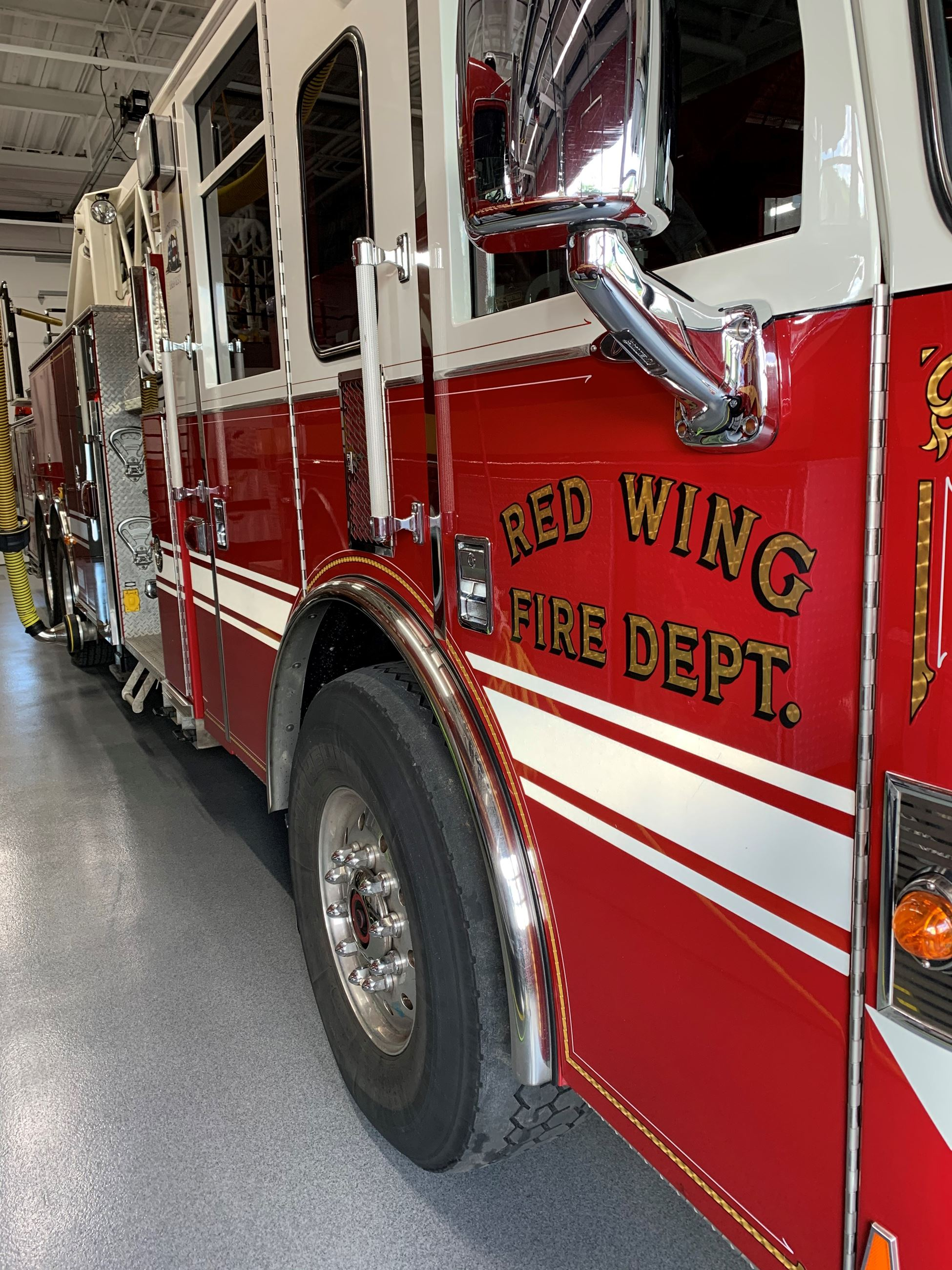 Red Wing Fire Department Ladder Truck
